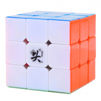 головоломка для спидкубинга 3x3x3 цветной марки DaYan 5 ZhanChi