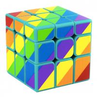 головоломка кубик 3х3 для спидкубинга MoYu SuLong Зеркальный (Мою СуЛонг), синий пластик