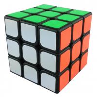 головоломка кубик 3х3 для спидкубинга MoYu SuLong (Мою СуЛонг), чёрный пластик
