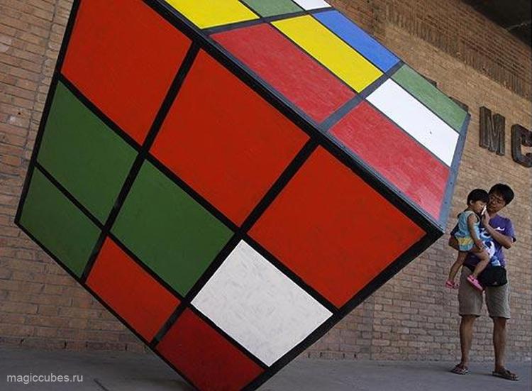 magiccubes.ru_макет гигантского кубика Рубика в городе Пекин, Китай
