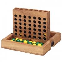 деревянная игра Четыре в Ряд средняя