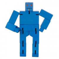 деревянный робот-трансформер Кубот синий