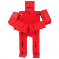 деревянный робот-трансформер Кубот красный