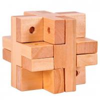 деревянная головоломка двойной Крест