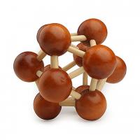 деревянная головоломка Молекула