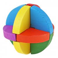 деревянная головоломка Сфера цветная