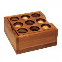 деревянная головоломка закрой Коробку