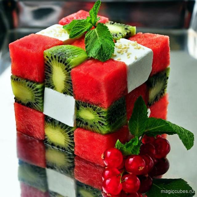 magiccubes_прекрасный десерт в виде кубика Рубика