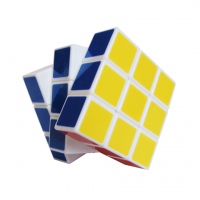 головоломка кубик 3x3x3 белый марки Ji Yang Wa