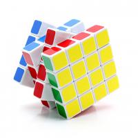 головоломка кубик 4x4 QiYi белый пластик