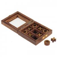 деревянная игра Крестики Нолики