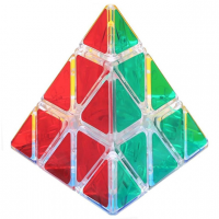 головоломка Пирамидка из прозрачного пластика Mozhi