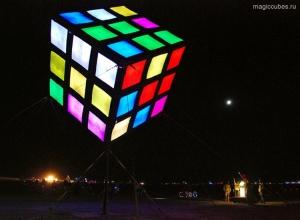 magiccubes.ru_световой кубик Рубика у Тихоокеанского научного центра Palooza