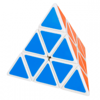 головоломка Pyraminx белый марки Mozhi