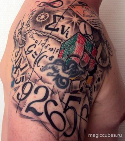 magiccubes_татуировки настоящих фанатов кубика Рубика