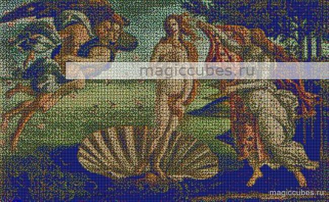 magiccubes.ru_картины из кубиков-рубиков_Рождение Венеры