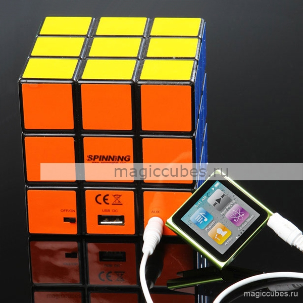 magiccubes.ru_акустическая колонка в виде кубика Рубика